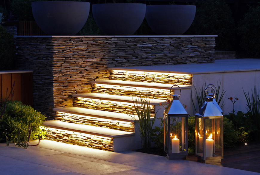 enjoy the outdoors day or night with greencube design