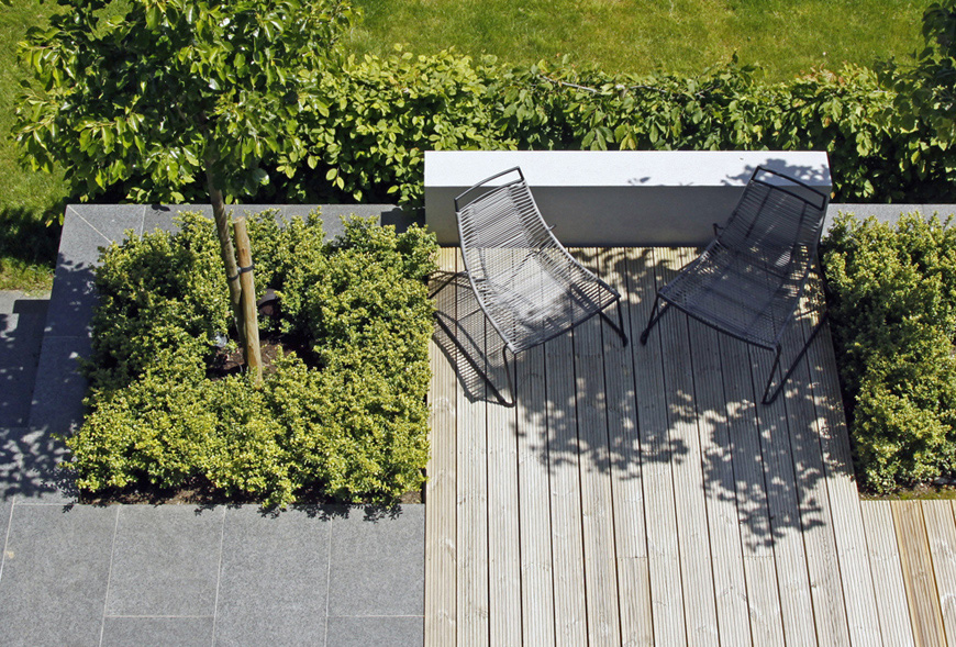greencube create a modern layout in our speldhurst, kent garden design